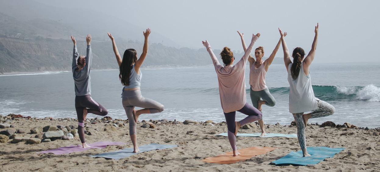 Ewelina w wolnych chwilach ćwiczy jogę