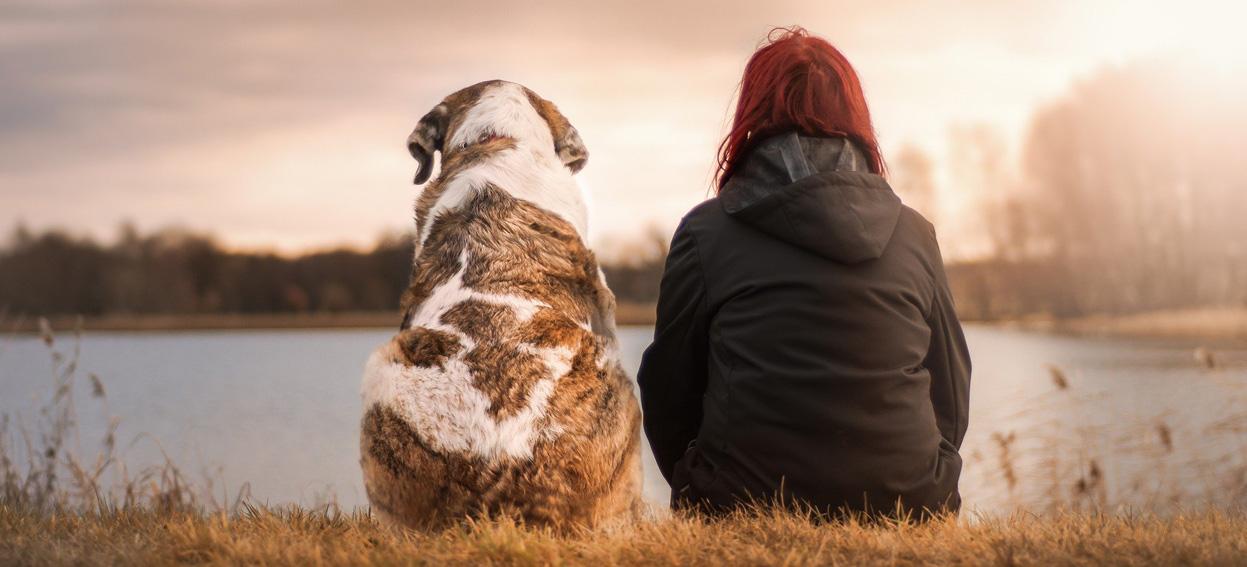 Dominika i Danka kochają psy