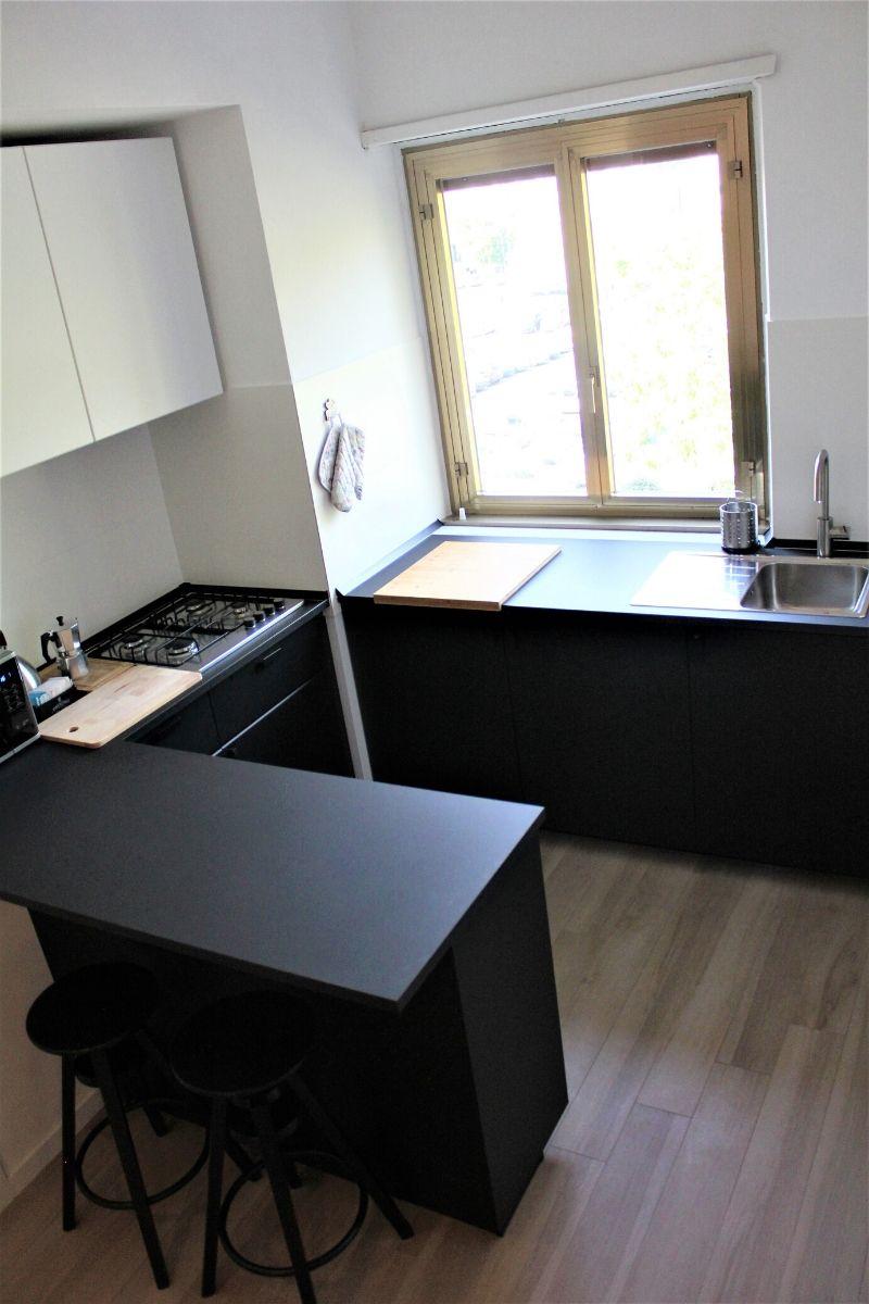 Aneks kuchenny w apartamencie Meloria