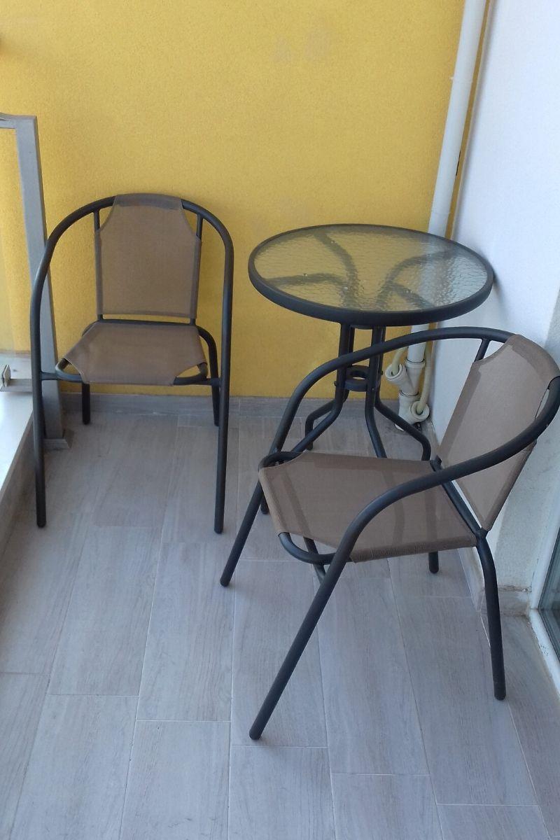 Studio dla 4 osób nad Morzem Czarnym - balkon
