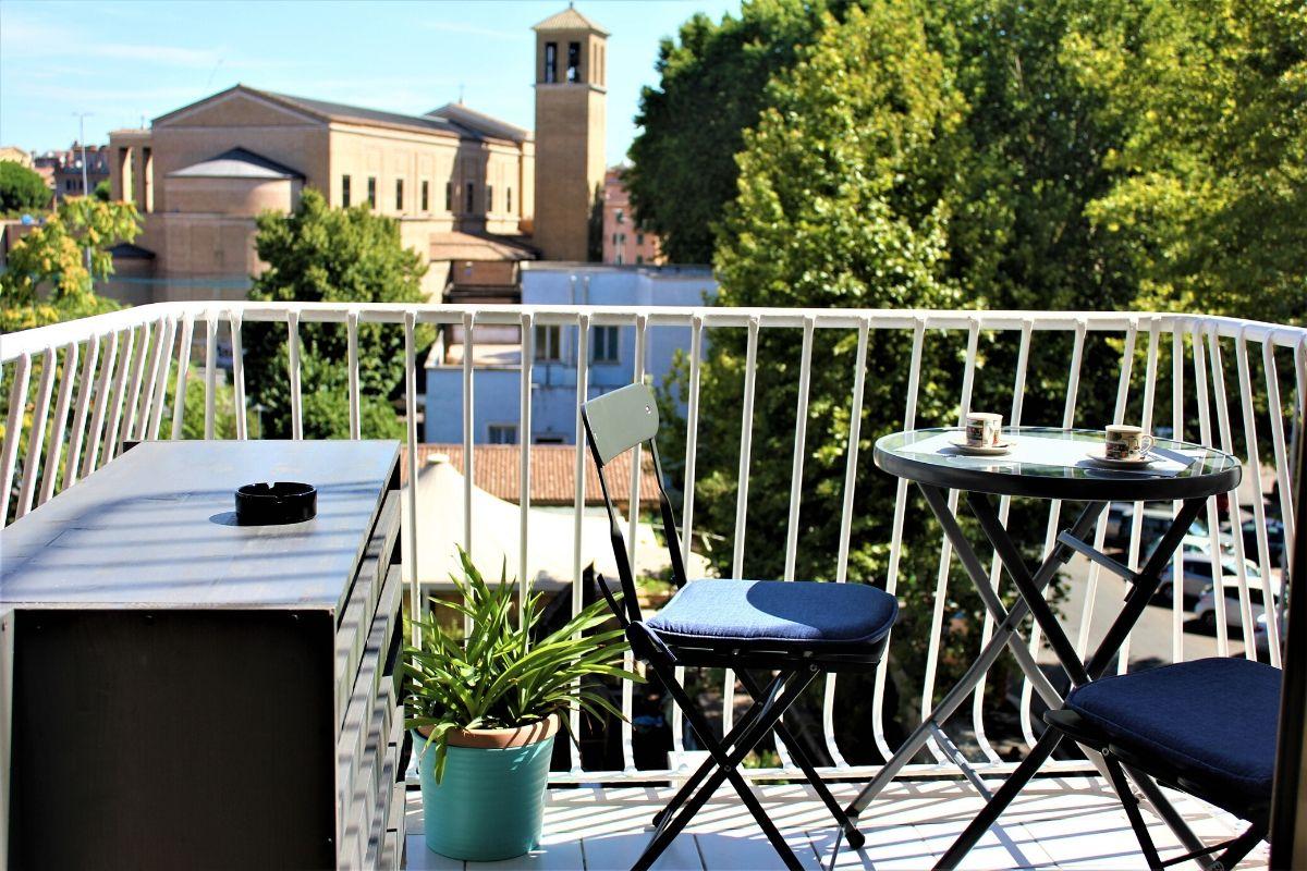Vatican Apartment Meloria - balkon