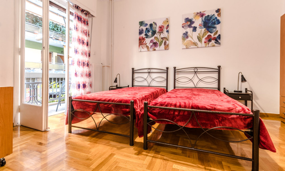 Pokoje i apartament Petaluda Feron w Atenach
