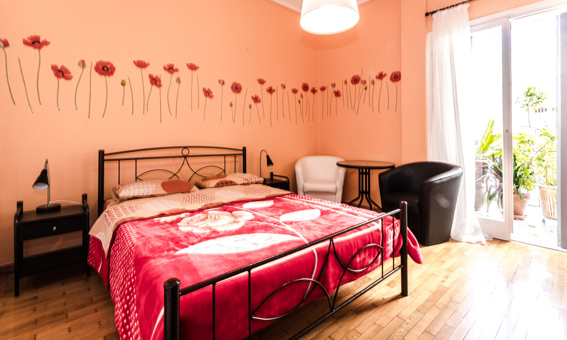Apartament Petaluda Ierosolimon w Atenach