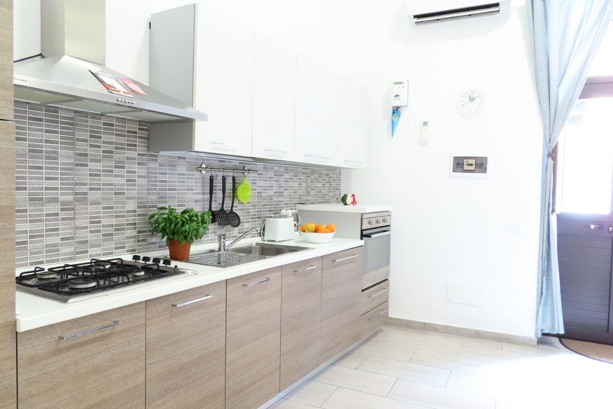 polski apartament na Sycylii - kuchnia