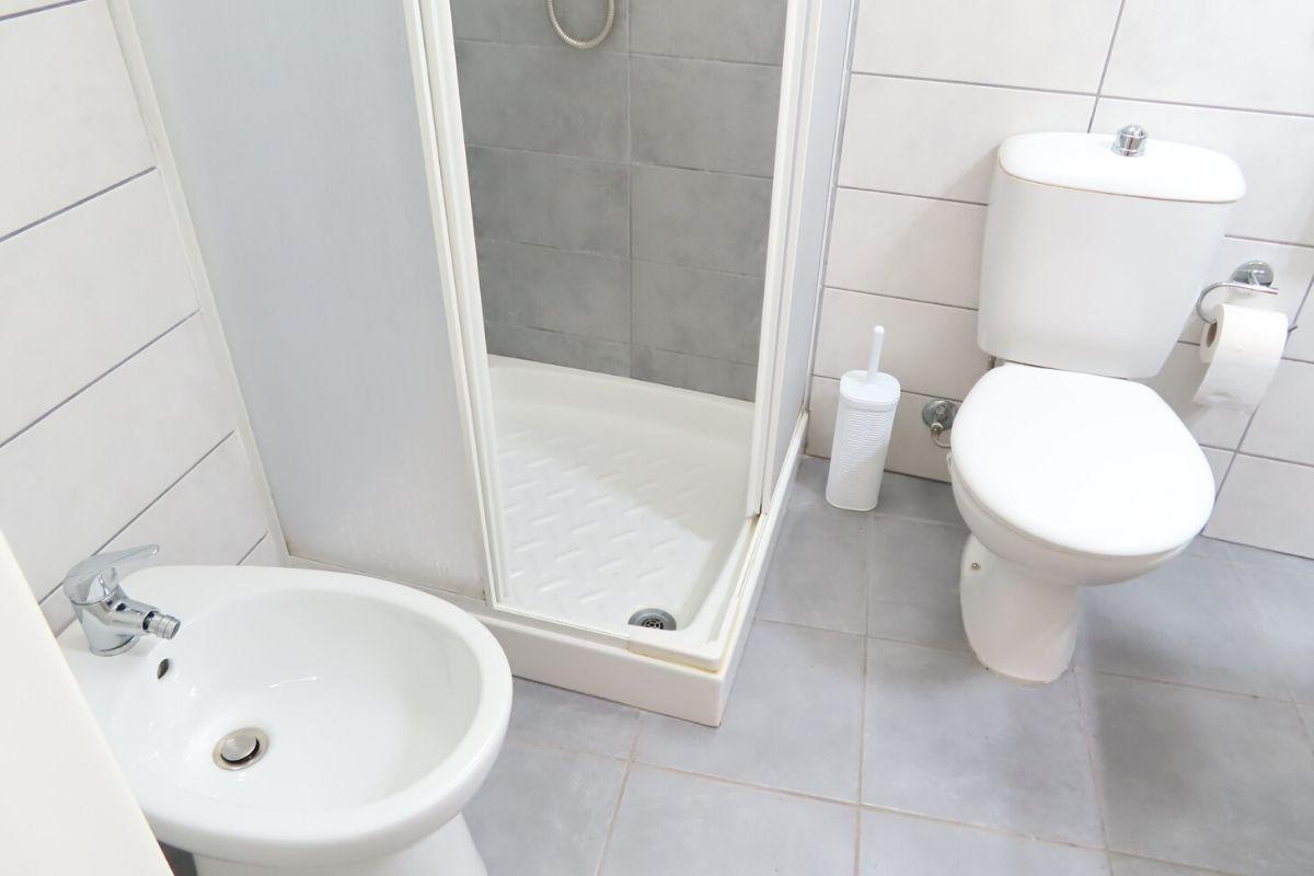 Noclegi u Polaków na Sycylii - łazienka