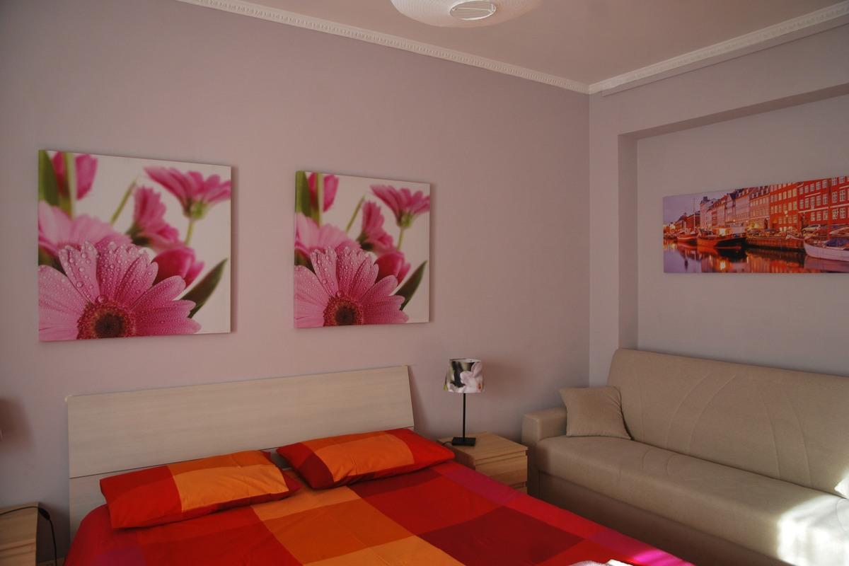 Isabella Rooms w Rzymie - pokój kwiatowy