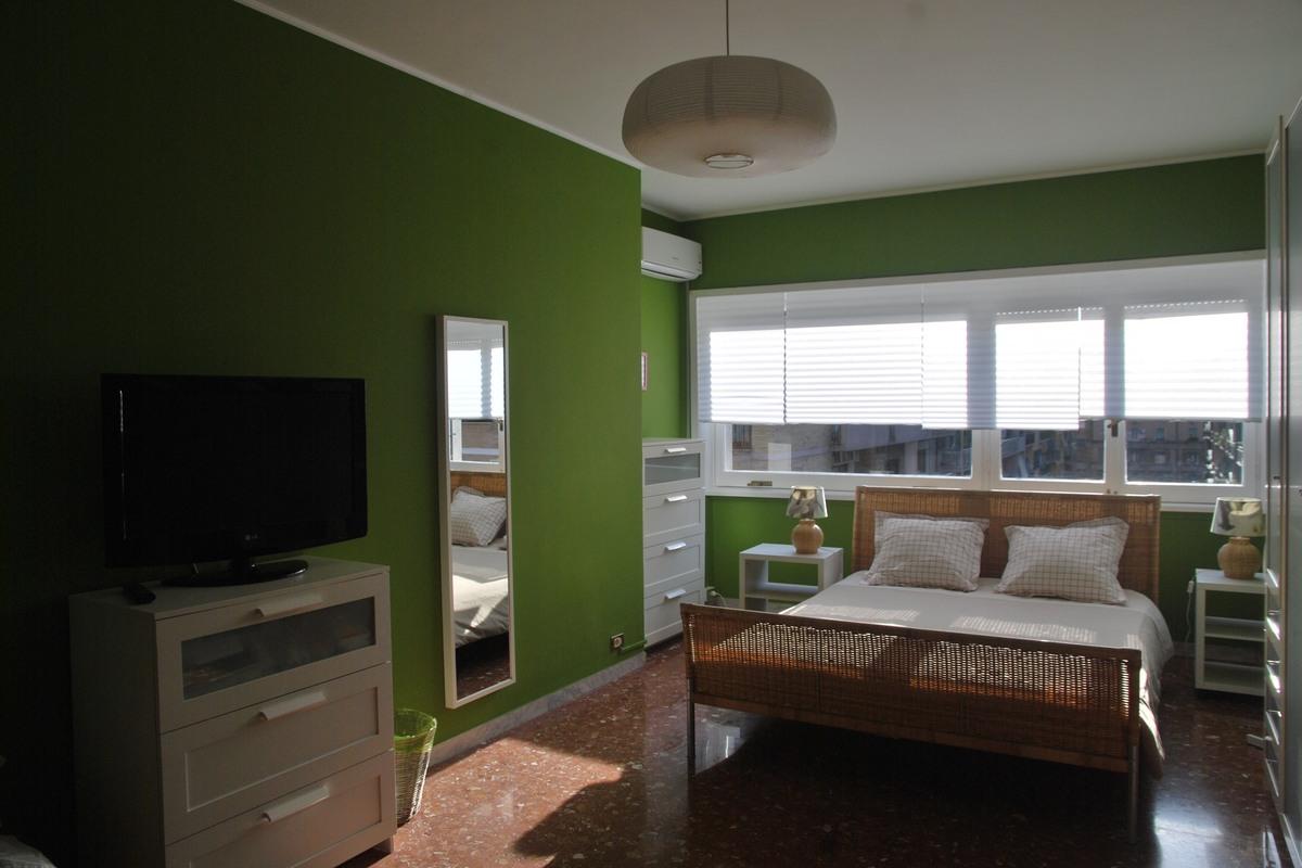 Pokój zielony - polskie apartamenty w Rzymie