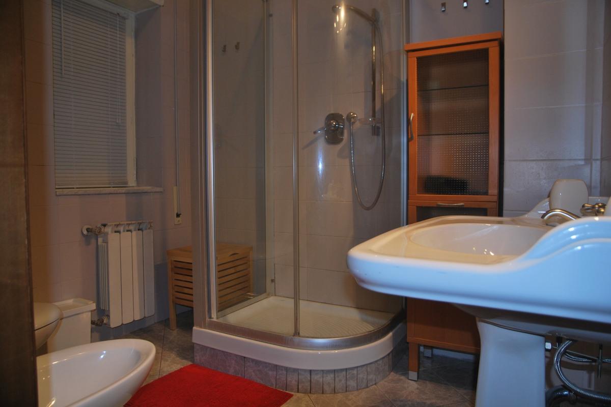 Pokój zielony - łazienka