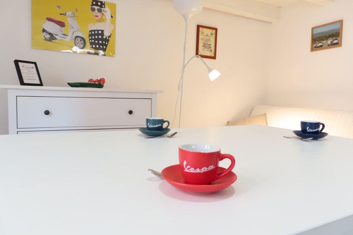Apartament Vespa Noto na Sycylii - salon