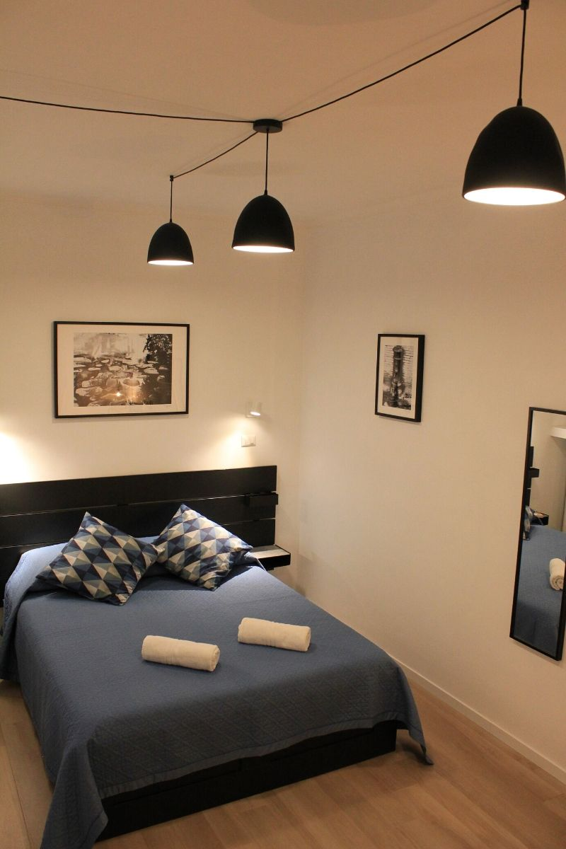 Meloria - niebieska sypialnia