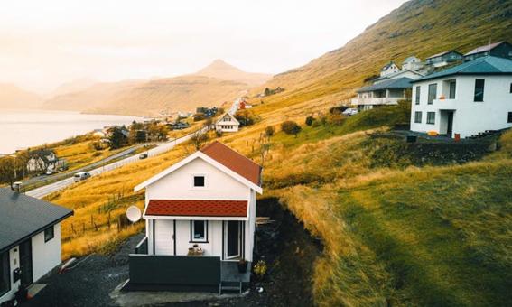Fjord Cottage na Wyspach Owczych