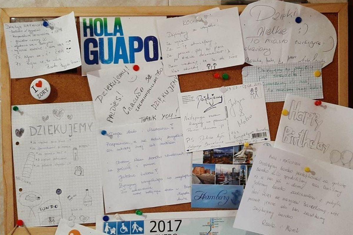 Easy Spain Barcelona - nasza tablica