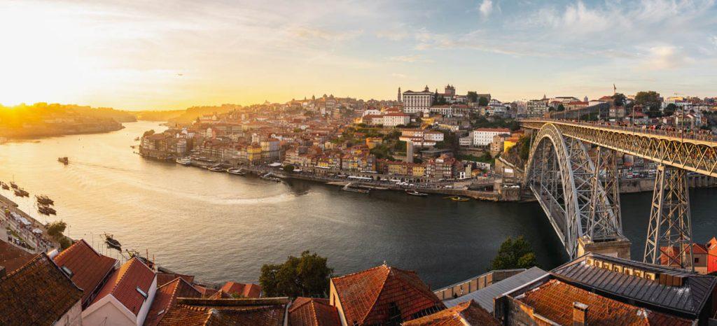 Widok na Porto, w którym zakochała się Dorota