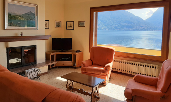 Villa del Pescatore nad jeziorem Como