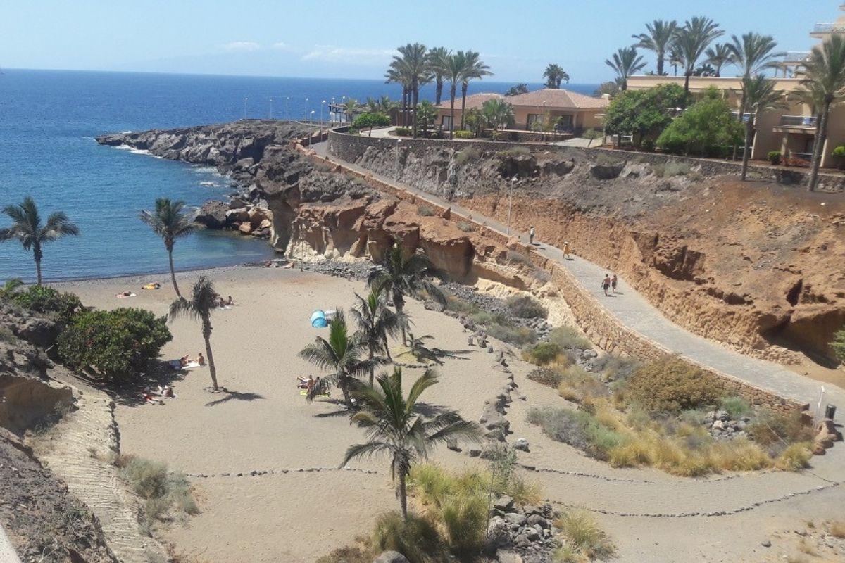 Teneryfa - plaża na Costa Adeje