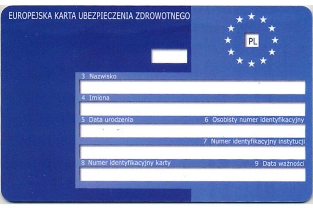 Karta EKUZ poza Europą jest bezużyteczna