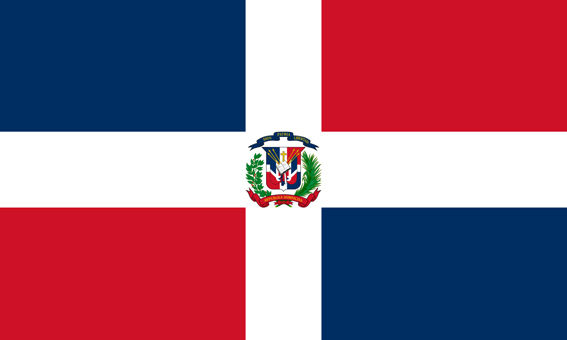 Flaga Dominikany - Noclegi u Polaków